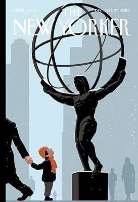 New Yorker December 20th, 2010 Art Print