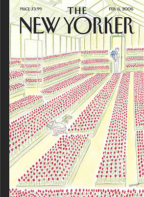 2006 Painting - New Yorker February 6th, 2006 by Jean-Jacques Sempe