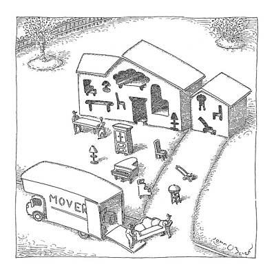 New Yorker April 30th, 2007 Art Print