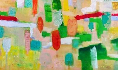 Painting - Untitled /      It Has Been Sold by Khalid Alaani