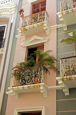 Old San Juan Photograph - Usa, Puerto Rico, San Juan by Kymri Wilt