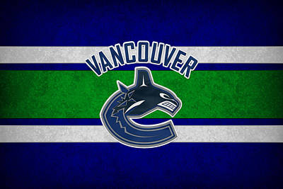 Vancouver Canucks Art Print by Joe Hamilton