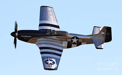 Photograph - Vintage P-51 Mustang Fighter by Kevin McCarthy