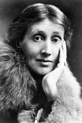 Bloomsbury Photograph - Virginia Woolf (1882-1941) by Granger