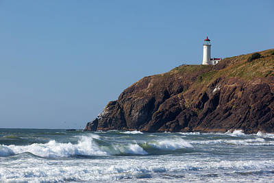 Wa, Cape Disappointment State Park Art Print