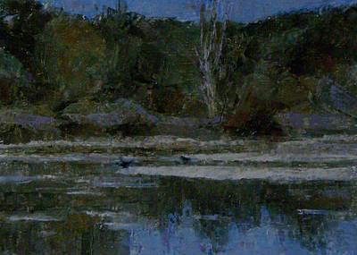 Painting - Waldon Pond by Chisho Maas