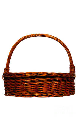 Photograph - Wicker Basket Number Six by Olivier Le Queinec