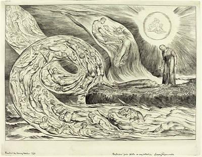 William Blake British, 1757 - 1827, The Circle Art Print