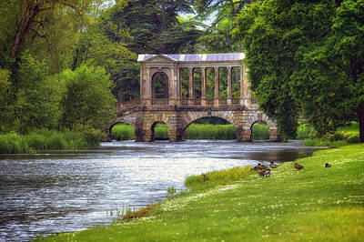 Garden Bridge Photograph - Wilton  by Joana Kruse