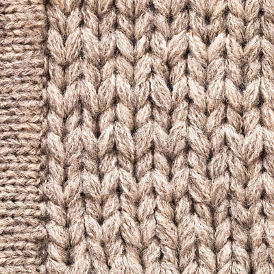 Clothes Clothing Photograph - Wool Background by Tom Gowanlock
