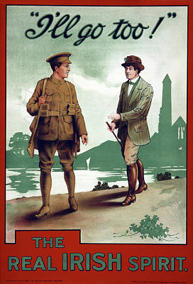 Painting - Wwi Poster, 1915 by Granger