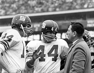 Y.a. Tittle Art Print by Retro Images Archive