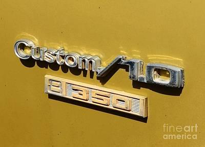 Photograph - 70 Chevy Custom 10 by Bob Sample