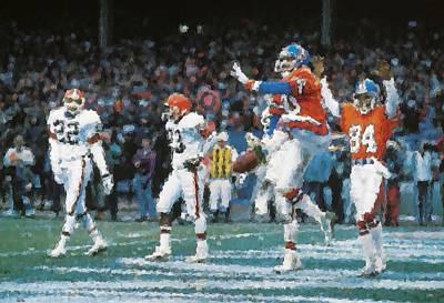 Jackson 5 Photograph - Denver Broncos by Joe Hamilton