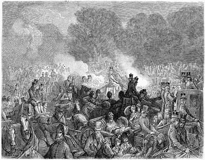 Dor� London, 1872 Art Print