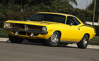 Photograph - '70 Hemi 'cuda by Gordon Dean II