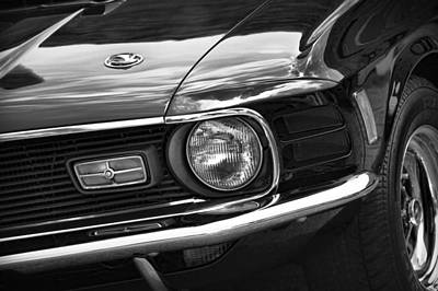 Photograph - '70 Mustang Mach 1 by Gordon Dean II