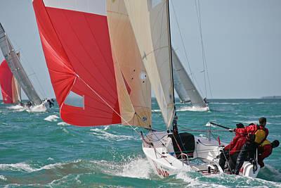 Midwinter Photograph - Key West Race Week by Steven Lapkin
