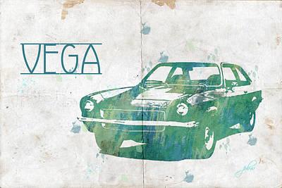 Digital Art - 71 Vega by Paulette B Wright