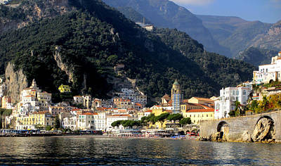 Celebrity Pop Art Potraits - Views From The Amalfi Coast in Italy by Rick Rosenshein