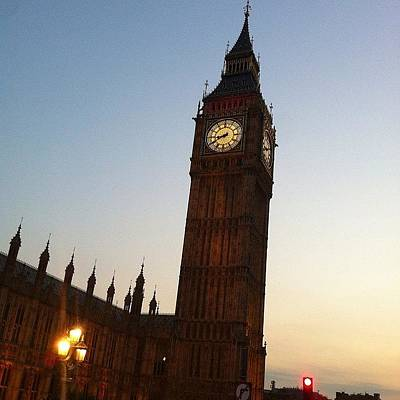 London Skyline Photograph - Big Ben by Rhian Norman