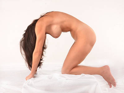Photograph - 7143 Beautiful 63 Year Old Nude Woman  by Chris Maher