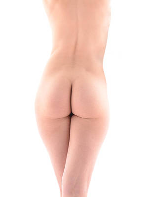 Photograph - 7196 Beautiful Nude Avonelle Rear View by Chris Maher