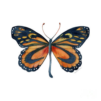 72 Cleobaea Butterfly Original