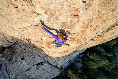 Popstar And Musician Paintings - Rock Climber by Elijah Weber
