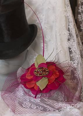Photograph - Top Hat And Veils by Terri Waters