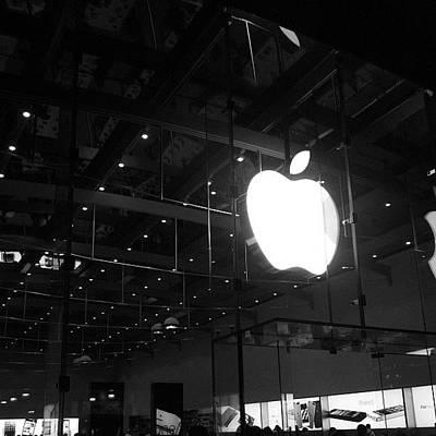 Apple Photograph - Bite The Apple by Cesar Ochoa