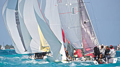 Sports Royalty-Free and Rights-Managed Images - Key West Race Week by Steven Lapkin