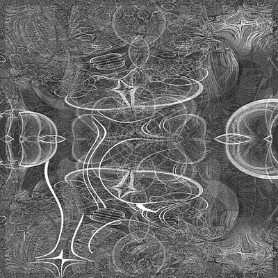 Digital Art - 724 - Fractal by Irmgard Schoendorf Welch