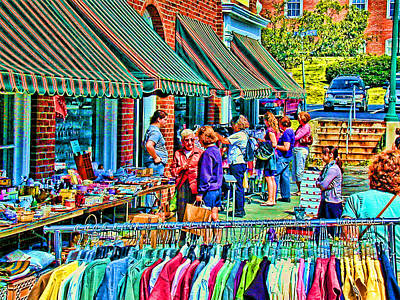 Photograph - 7331-bar Harbor by Lewis Mann