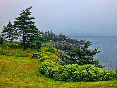 Photograph - 7333-bar Harbor by Lewis Mann