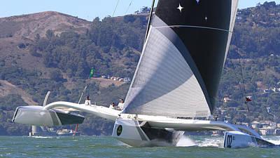 San Francisco Sailing Art Print by Steven Lapkin