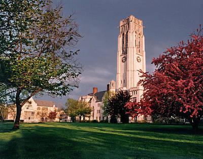 7535 University Of Toledo Bell Tower Art Print