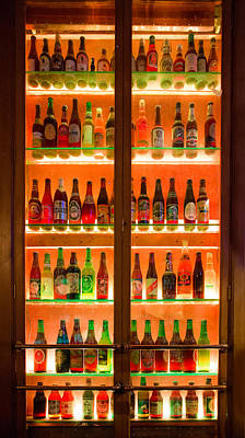 76 Bottles Of Beer Art Print by Semmick Photo
