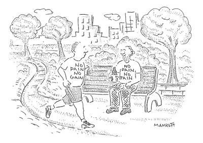New Yorker April 13th, 2009 Art Print