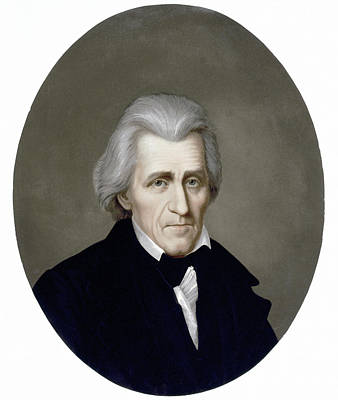 Painting - Andrew Jackson (1767-1845) by Granger