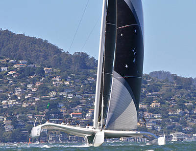 Sausalito Photograph - San Francisco Sailing by Steven Lapkin