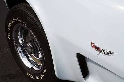 Bow Tie Photograph - '78 Vette by Mike Maher