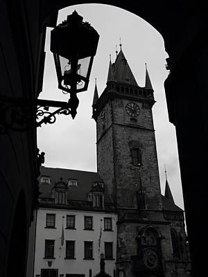 Prague - Old Town Hall Original by Pavel Jankasek