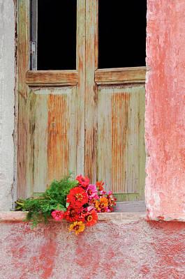 Grate Photograph - Mexico, San Miguel De Allende by Jaynes Gallery