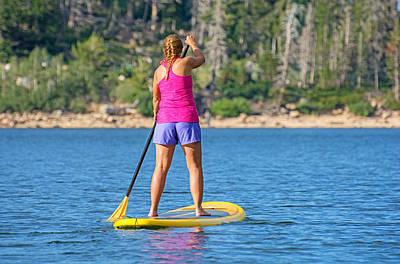 Stocktrek Images - Standup Paddle Board by Elijah Weber