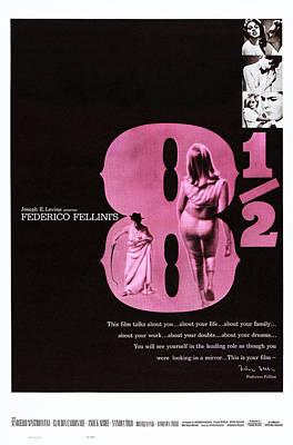 Fellini Photograph - 8 12, Right From Top Sandra Milo by Everett