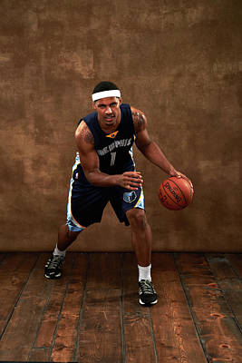 Photograph - 2014 Nba Rookie Photo Shoot by Jennifer Pottheiser