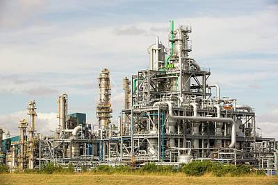 Chemical Photograph - A Bp Chemical Plant At Salt End by Ashley Cooper