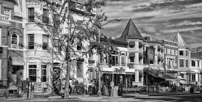 Storefront Photograph - Adams Morgan Neighborhood - Washington D C by Mountain Dreams