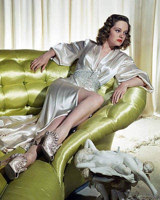 Photograph - Alexis Smith by Silver Screen